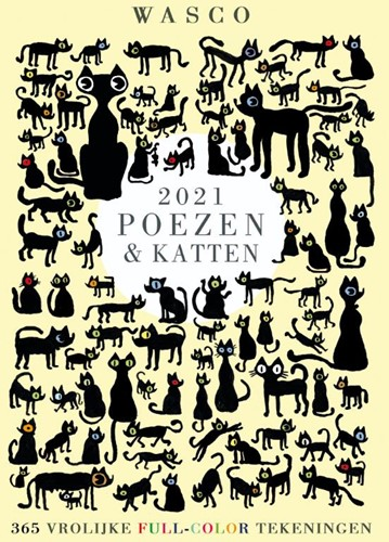 Katten Scheurkalender 2021 Wasco