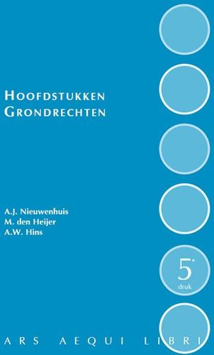 Hoofdstukken grondrechten Nieuwenhuis, Aernout