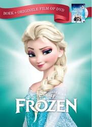 Frozen -Boek + originele film op dvd Disney