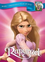 Rapunzel -Boek met originele film op dvd Disney