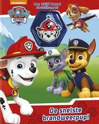 PAW Patrol, De Snelste Brandweerpup! -met PAW Patrol Sleutelhanger&#