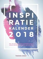 Inspiratiekalender 2018 -met wijsheden van Stephen Cove y, Daniel Kahneman, Alain de B (red.)