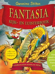 Fantasia, Boek 64 pag.+ 3 CD's -kijk- en luisterboek Stilton, Geronimo