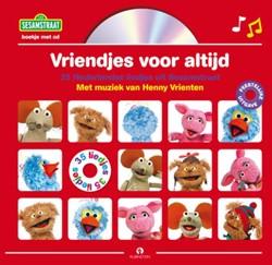 Vriendjes voor altijd, Boek + CD -de leukste liedjes uit Sesamst raat Vrienten, Henny