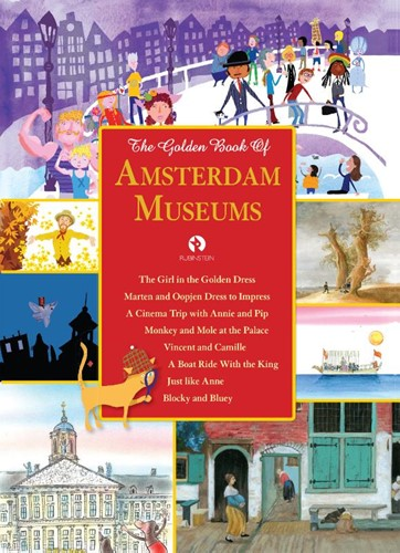 The Golden Book of Amsterdam Museums Meinderts, Koos