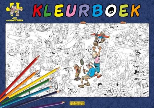 Jan van Haasteren kleurboek Diversen, Diversen