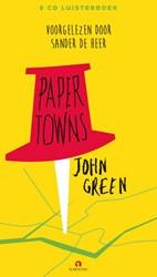 Paper Towns Luisterboek 8 cd's Green, John