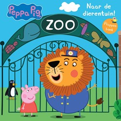 Peppa Pig, Naar de Dierentuin! -flappenboek van karton Astley, Neville