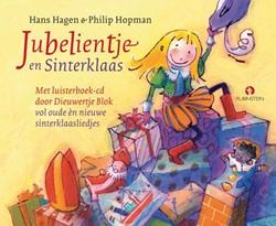 Jubelientje en Sinterklaas, Boek met cd -vol oude en nieuwe sinterklaas liedjes Hagen, Hans & Monique