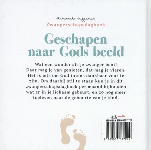 Geschapen naar Gods beeld -ZWANGERSCHAPSDAGBOEK Krijgsman, Annemieke-2