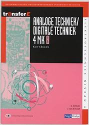 Analoge techniek / digitale techniek Bruin, A. de