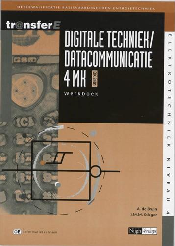 Digitale techniek / datacommunicatie -deelkwalificatie basisvaardigh eden energietechniek Bruin, A. de