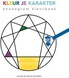 Kleur je karakter -Enneagram Kleurboek Wetering, Willem Jan van de