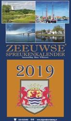 Zeeuwse Spreukenkalender 2019 Willemsen, Rinus