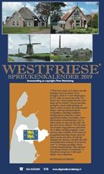 Westfriese spreukenkalender 2019 Ruitenberg, Peter