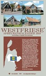 Westfriese spreukenkalender 2018 Ruitenberg, Peter