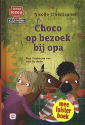 Leren lezen met Kluitman Choco op bezoek Christiaanse, Nicolle