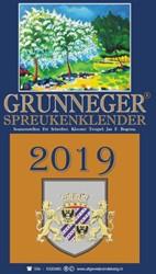 Grunneger Spreukenklender 2019 Schreiber, Fre