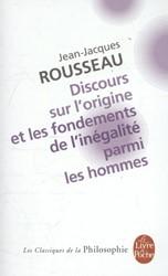 Discours Sur L'Origine et Les Fonde Rousseau, Jean-Jacques