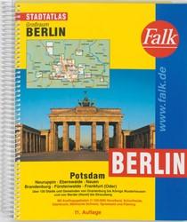 BERLIN / POTSDAM E.O. KAARTBOEK -GROSSRAUM