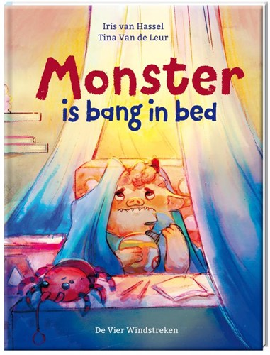 Monster is bang in bed Leur, Tina Van de
