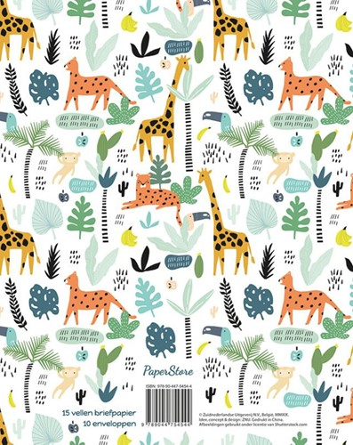 Briefpapier safari-2