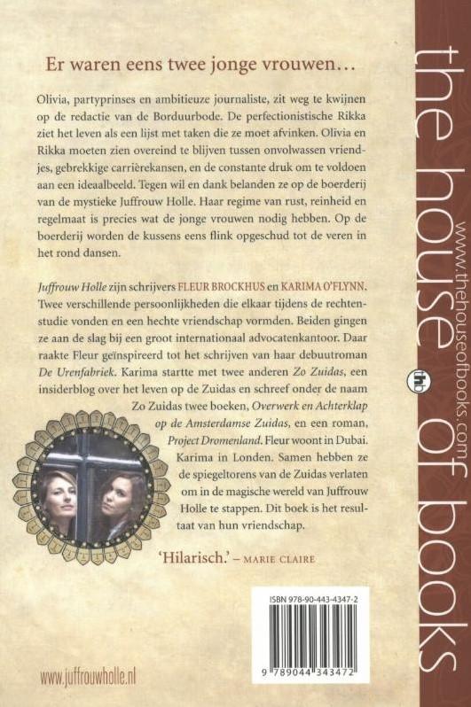 Juffrouw Holle Een Sprookje Voor De Moderne V Rouw Brockhus Fleur