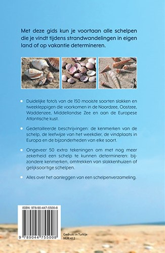 De complete schelpengids -De meest voorkomende soorten o p onze Europse stranden herken Lindner, Gert-2