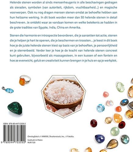 De kracht van helende stenen -Van amethist tot lapis lazuli: de beste edelstenen en krista Pelloux, Martine-2