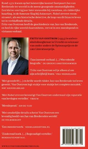 Nobel streven -het onwaarschijnlijke maar waa rgebeurde verhaal van ridder J Oostrom, Frits van-2