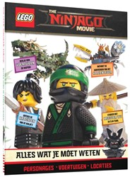 The LEGO NINJAGO Movie: Alles wat je moe -personages voertuigen locaties March, Julia