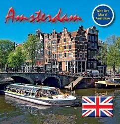 Amsterdam 15x15 cm Engelse Editie incl. -English text Loo, Bert van