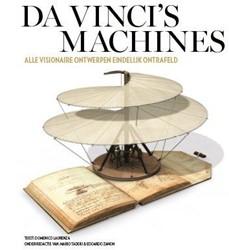 Da Vinci's machines -alle visionaire ontwerpen eind elijk ontrafeld Laurenza, Domenico