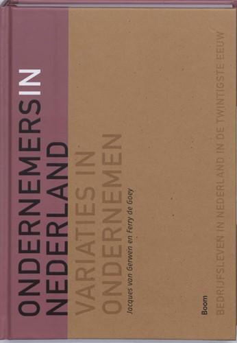 Ondernemers in Nederland -variaties in ondernemen Gerwen, J. van