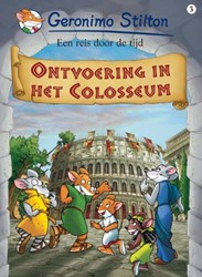 Ontvoering in het Colosseum (strip 3) Stilton, Geronimo