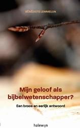 Mijn geloof als Bijbelwetenschapper? -een broos en eerlijk antwoord Lemmelijn, Benedicte