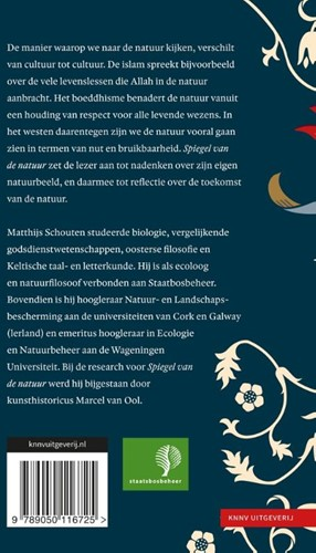 Spiegel van de natuur -Het natuurbeeld in cultuurhist orisch perspectief Schouten, Matthijs G.C.-2