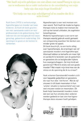 Hypnotherapie bij zwangerschap -BOEK OP VERZOEK Evers, Ruth-2