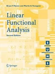 Linear Functional Analysis Rynne, Bryan P.