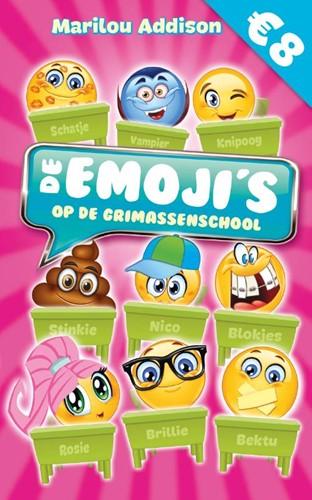 De emoji's op de grimassenschool Addison, Marilou