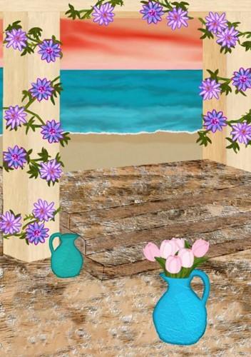 Gedachtenboek -Gateway to blue water Avalon, Dawn