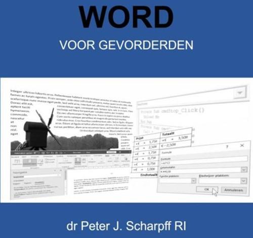 Word voor Gevorderden Scharpff RI, Dr Peter J.