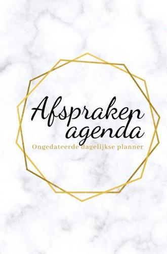 Afsprakenagenda -Ongedateerde dagelijkse planne r - prive en business planner Mindset, Miljonair
