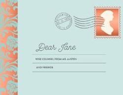 Dear Jane -Wise Counsel from Ms. Austen a nd Friends Clarkson Potter