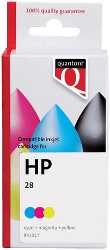 INKCARTRIDGE QUANTORE HP 28 C8728AE -QUANTORE INKJET K20114PR KLEUR