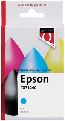 INKCARTRIDGE QUANTORE EPS T071240 BLAUW -QUANTORE INKJET K20389PR Inkcartridge proprint eps t071240 blauw