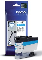INKCARTRIDGE BROTHER LC-3237 BLAUW -BROTHER INKJET LC3237C