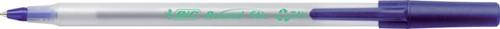 Balpen bic ecolutions round stic 0.4mm -B932402 8932402 Blauw