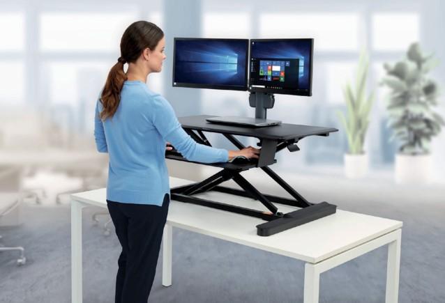 Zit sta bureau kensington smartfit ergonomische hulpmiddelen