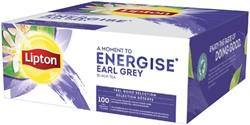 THEE LIPTON ENERGISE EARL GREY 100ST -WARME DRANKEN 16785001